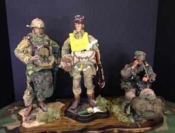 Army Vet figurines